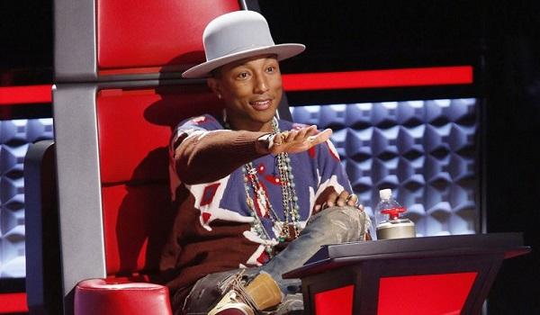 Pharrell Williams The Voice NBC
