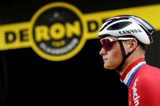Ronde van Vlaanderen 2021 - Tour of Flanders - 105th Edition - Antwerp - Oudenaarde 263,7 km - 04/04/2021 - Mathieu Van Der Poel (NED - Alpecin-Fenix) - photo Dion Kerckhoffs/CV/BettiniPhoto©2021