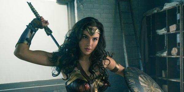 Wonder Woman in her origin armor