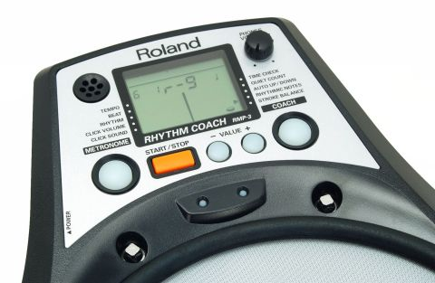 The RMP-3 combines two essential tools - a metronome and a practice pad