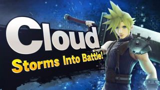 Cloud Strife so Super Smash Bros