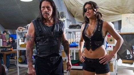 Michelle Rodriguez stars in new image from Machete Kills