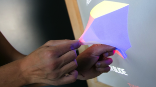 Ghost technology enables shape changing displays