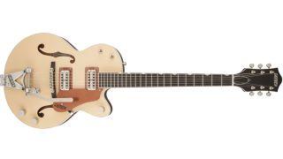 The Gretsch Professional Collection G6112TCB-JR Center-Block LTD 2-Tone guitar.