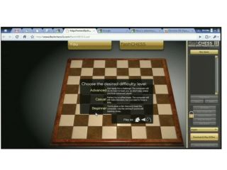 Chess on Chrome OS