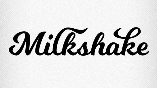 Free script font: Milkshake