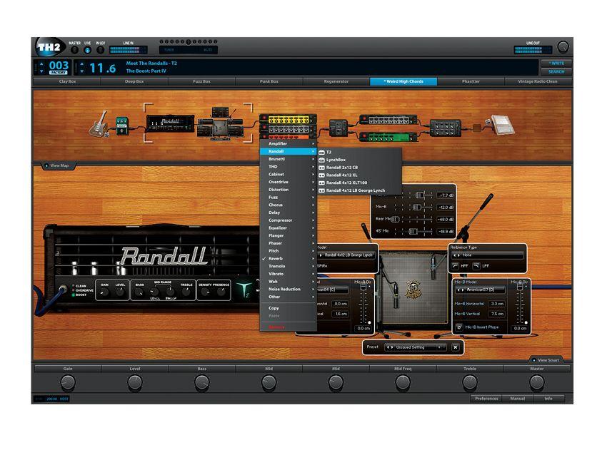 overloud th2 review musicradar. Black Bedroom Furniture Sets. Home Design Ideas