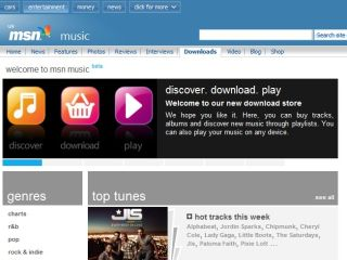 MSN Music hits open beta