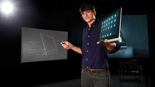 Ashton Kutcher Lenovo tablets
