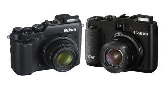 Canon G16 vs Nikon P7800