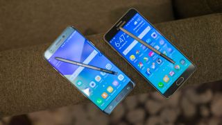 Samsung Galaxy Note 7 vs Note 5