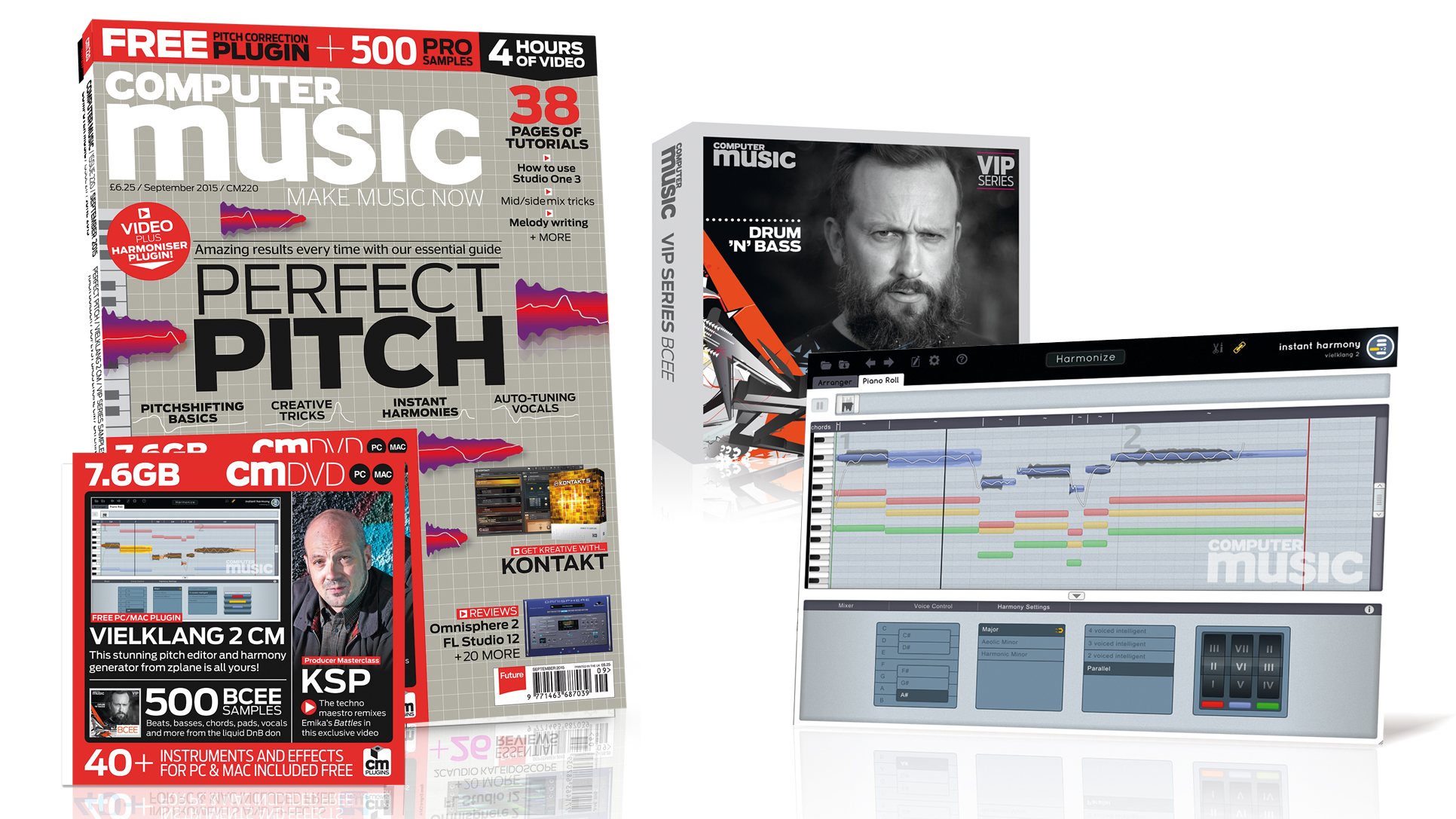Computer Music issue 220 – PERFECT PITCH – September 2015