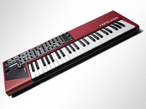 Like previous Clavia instruments, the Nord Wave is a thing of beauty.