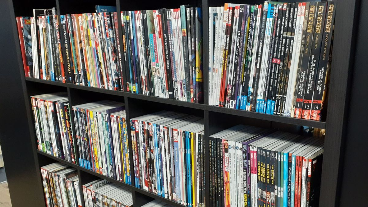 Graphic novel sales up 42% in North American bookstores this quarter