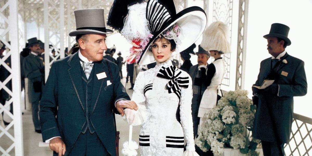 Audrey Hepburn in white