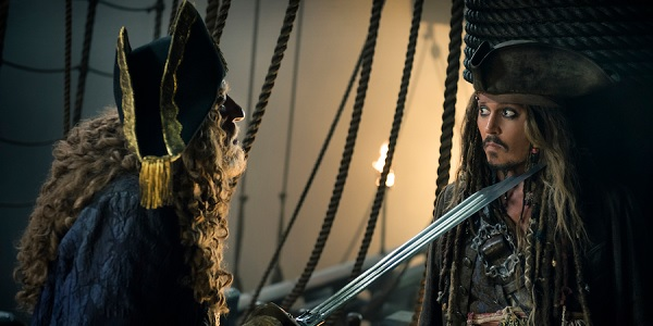 Pirates of the Caribbean: Dead Men Tell No Tales Barbossa v Sparrow