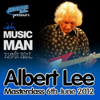 Albert Lee playing live in 1988