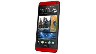 UK-exclusive 'Glamour Red' HTC One handset now available