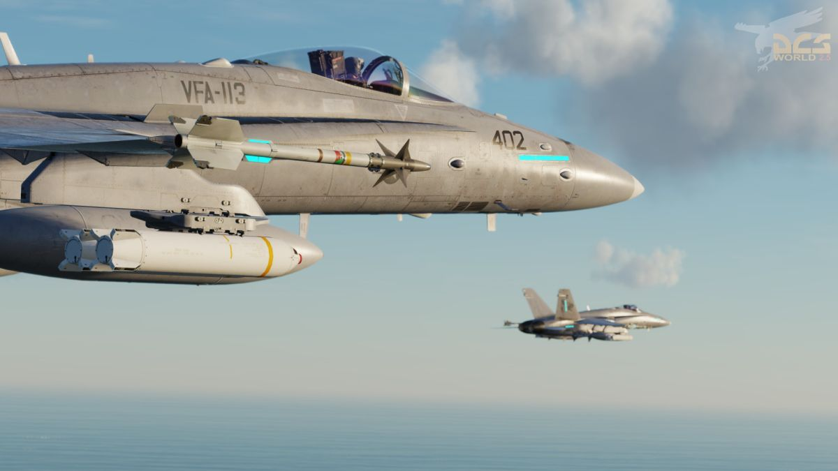 The trailer for DCS World's free month on Steam shows that fighter jets can be sentimental too