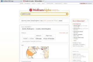 DIY scientific research with WolframAlpha