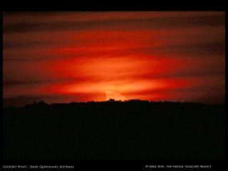Solar Eclipse Photos By Australian Stargazers April 29