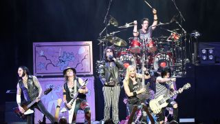 Chuck Garric, Ryan Roxie, Nita Strauss, Glen Sobel and Tommy Henriksen to release album without Alice Cooper, centre