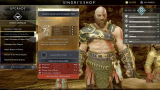 God of War Niflheim Mist armor