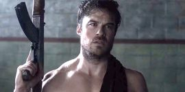 Netflix's V Wars: Ian Somerhalder Posts Two Shirtless And 'Timely' Clips In Push For Season 2