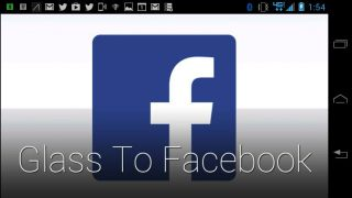 Glass to Facebook