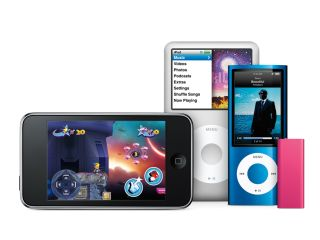 The new iPod family: take your pick from this lot.