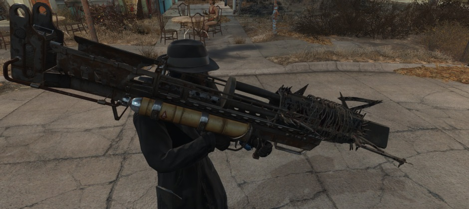 Fallout 4 mod lets you attach any mod to any weapon, and no, it's