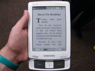 Samsung E60 ebook reader