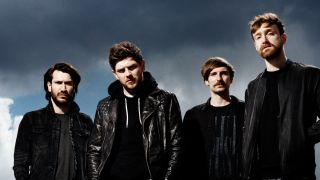 A promo picture of Scottish rock band Twin Atlantic