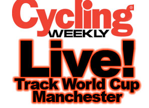 Manchester Track Cycling World Cup live!