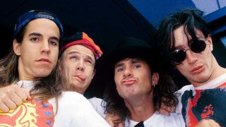 Red Hot Chili Peppers in 1990