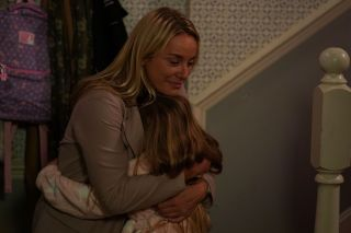 EastEnders Mel says good bye to Amy