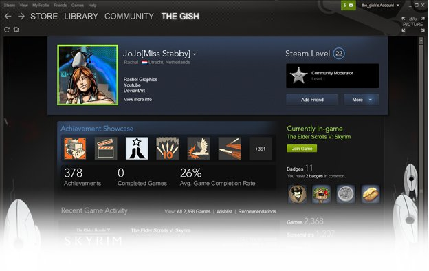 Steam Trading Cards Now In Beta #26769