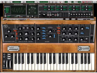 Your Minimoog can be used to process sounds as well as create its own.