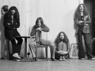 The classic Sabbath line up back in 1970