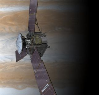 Artist's Concept of Juno Spacecraft