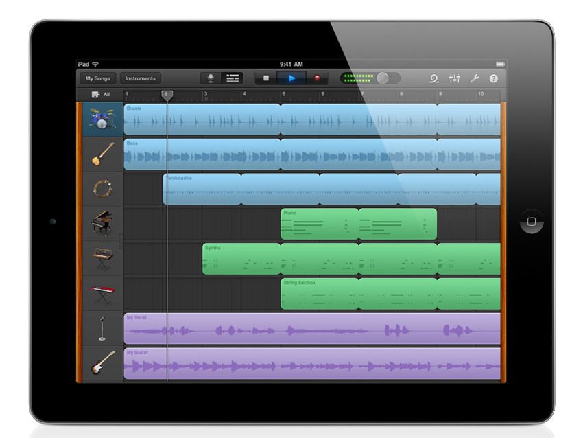 GarageBand for iPad: 7 things musicians need to know