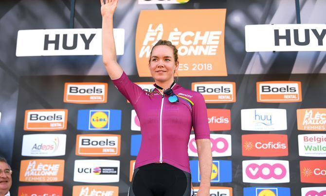 Anna van der Breggen leads the Women's WorldTour after Fleche Wallonne victory