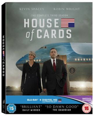 HOUSE OF CARDS SEASON 3 SBRP619801UV_3D - SPECIAL PACKAGING
