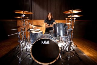 Brian Tichy at his Natal kit