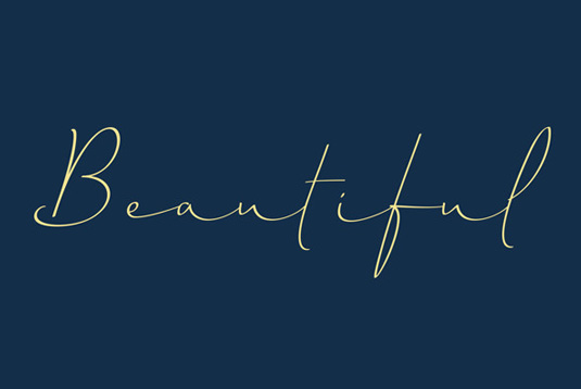 Font of the day: Horizontes Script