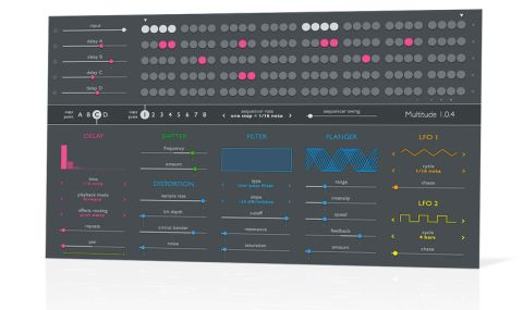 As we've come to expect from Sinevibes, the clean, no-nonsense interface is fluid and precise