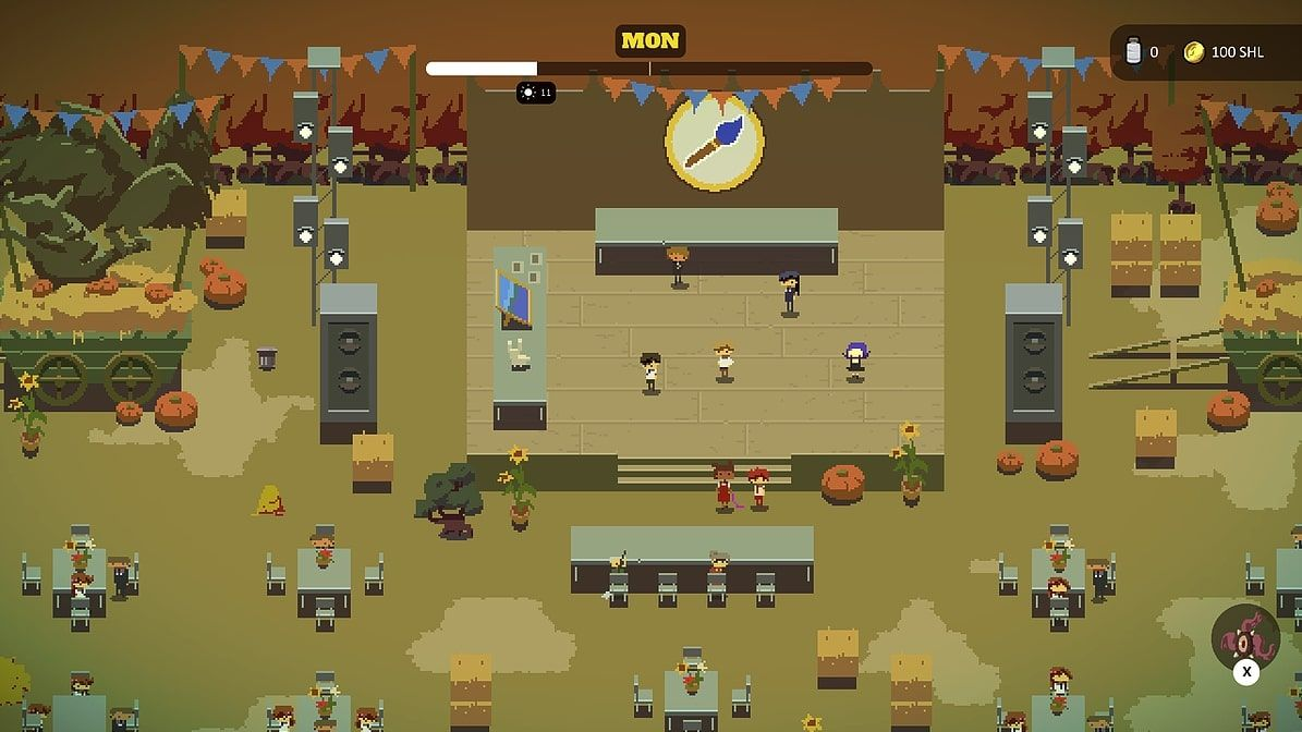 School Wars is a promising adventure about a high school talent show and magical krakens