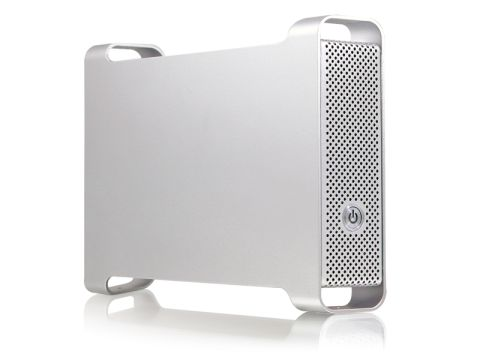 "Macally Aluminiun 3.5"" HDD enclosure"