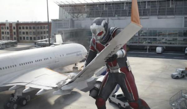 Ant-Man Captain America Civil War