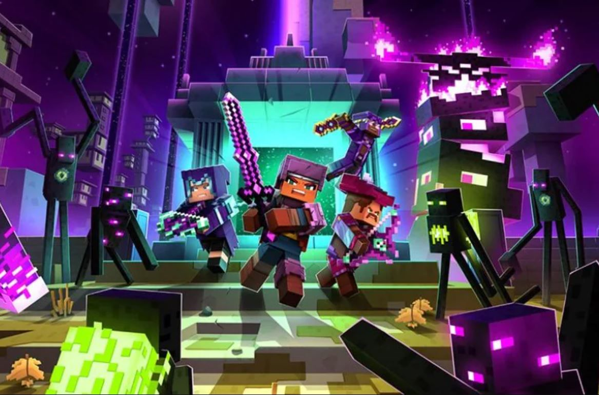 New Minecraft Dungeons expansion takes the fight to the Endermen